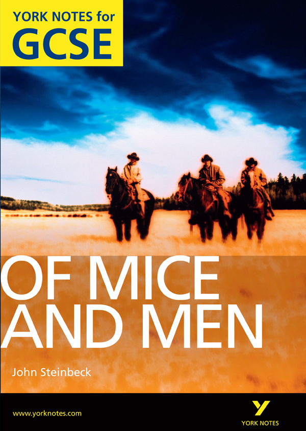 GCSE English Essay Of MIce and Men, 10 points!?