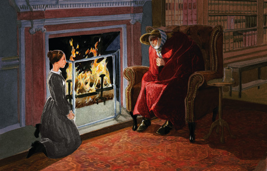 Jane Eyre Red Room