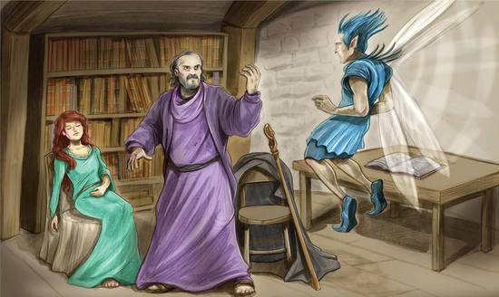 Act I Scene 2 (lines 1–241): Prospero tells Miranda his story Summary The  Tempest (Grades 9–1)