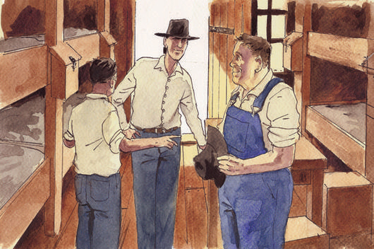 the dreams of george and lennie in john steinbecks of mice and men As was mentioned in the previous post, george and lennie's dream is simply  in john steinbeck's novel of mice and men, george and lennie's dream of.