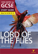 York Notes Lord of the Flies (Grades 9–1) GCSE Book Cover