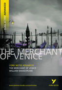York Notes Merchant of Venice: Advanced A Level Revision Study Guide