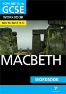 York Notes Macbeth Workbook (Grades 9–1)  GCSE Revision Study Guide