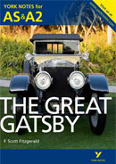 York Notes The Great Gatsby: AS & A2 A Level Revision Study Guide