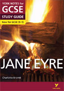 York Notes Jane Eyre (Grades 9–1)  GCSE Book Cover
