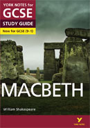 York Notes Macbeth (Grades 9–1) GCSE Revision Study Guide