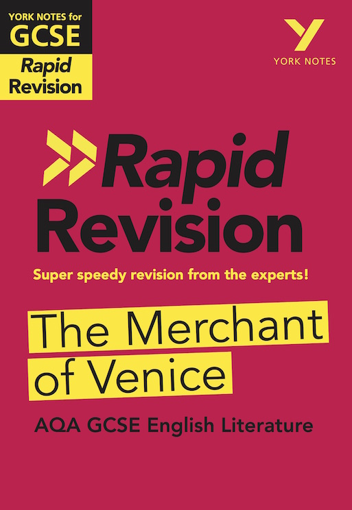 York Notes The Merchant of Venice: AQA Rapid Revision Guide (Grades 9-1) GCSE Revision Study Guide