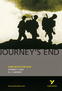 York Notes Journey's End: GCSE GCSE Book Cover