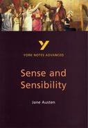 York Notes Sense and Sensibility: Advanced A Level Revision Study Guide
