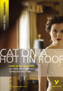 York Notes Cat on a Hot Tin Roof: Advanced A Level Revision Study Guide