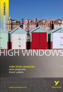 York Notes High Windows: Advanced A Level Revision Study Guide