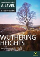 York Notes Wuthering Heights: A Level A Level Book Cover