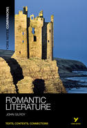 York Notes Romantic Literature: Companion Undergraduate Book Cover