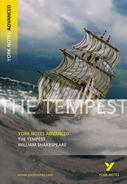 York Notes The Tempest: Advanced A Level Book Cover