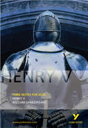 York Notes Henry V: GCSE GCSE Revision Study Guide