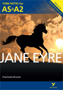 York Notes Jane Eyre: AS & A2 A Level Book Cover