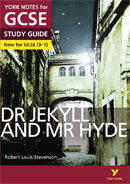 York Notes Dr Jekyll and Mr Hyde (Grades 9–1)  GCSE Book Cover
