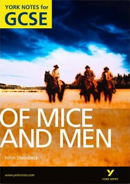 York Notes Of Mice and Men GCSE Book Cover
