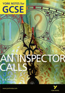 York Notes An Inspector Calls GCSE Book Cover