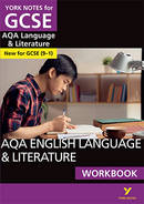 York Notes AQA English Language & Literature: Workbook GCSE Revision Study Guide