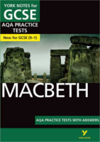 York Notes Macbeth: AQA Practice Tests with Answers GCSE Revision Study Guide