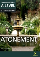 York Notes Atonement: A Level A Level Book Cover
