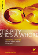 York Notes 'Tis Pity She's a Whore: Advanced A Level Revision Study Guide