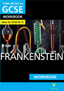 York Notes Frankenstein Workbook (Grades 9–1) GCSE Revision Study Guide