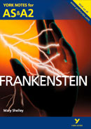 York Notes Frankenstein: AS & A2 A Level Book Cover