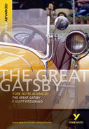 York Notes The Great Gatsby: Advanced A Level Book Cover