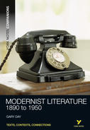 York Notes Modernist Literature: Companion Undergraduate Revision Study Guide