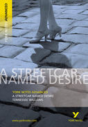 York Notes A Streetcar Named Desire: Advanced A Level Book Cover