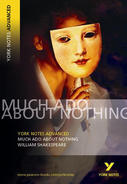 York Notes Much Ado About Nothing: Advanced A Level Book Cover
