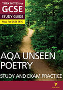 AQA Unseen Poetry: Study and Exam Practice (Grades 9-1) York Notes GCSE Revision Guide