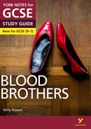 York Notes Blood Brothers (Grades 9–1) GCSE Book Cover