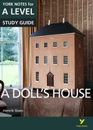 York Notes A Doll's House: A Level A Level Book Cover