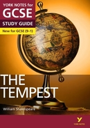 York Notes The Tempest (Grades 9–1) GCSE Revision Study Guide