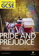 York Notes Pride and Prejudice  GCSE Revision Study Guide