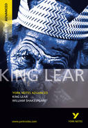 York Notes King Lear: Advanced A Level Book Cover