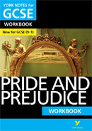 York Notes Pride and Prejudice: Workbook (Grades 9–1) GCSE Revision Study Guide
