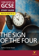 York Notes The Sign of the Four (Grades 9–1) GCSE Book Cover