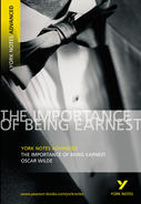 York Notes The Importance of Being Earnest: Advanced A Level Book Cover