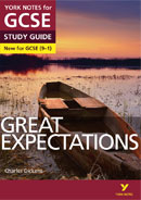 York Notes Great Expectations (Grades 9–1)  GCSE Book Cover
