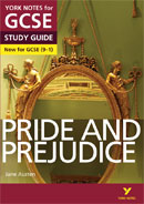 York Notes Pride and Prejudice (Grades 9–1)  GCSE Revision Study Guide